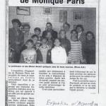 Exposition aquarelles des élèves de Monique PARIS Puyricard 1996 (Florent Olivier et Marie Jo)