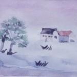Olivier (Paysage sous la neige)
